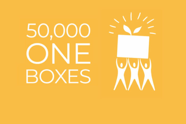 The One Box celebrates a significant milestone