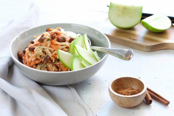 Breakfast Bircher with Apple & Carrot