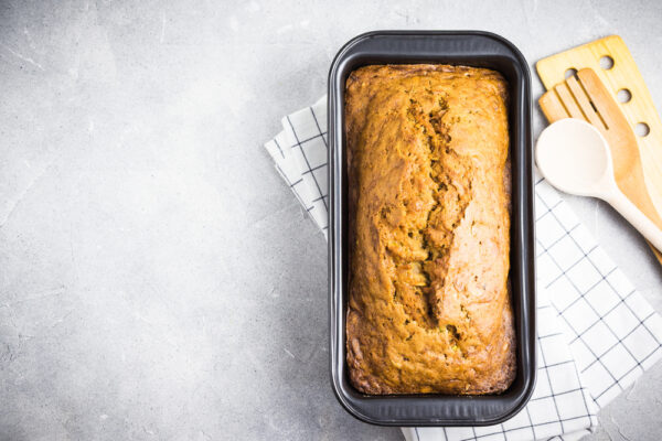 Apple, Carrot & Ginger Loaf