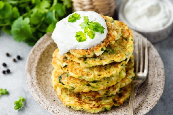 Potato & Zucchini Rostis